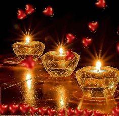 Good night S. Good Night Greetings, Good Night Wishes, Good Night Sweet Dreams, Happy Diwali Wallpapers, Happy Diwali Images, Beautiful Gif, Beautiful Candles, Romantic Candles, Good Night Image