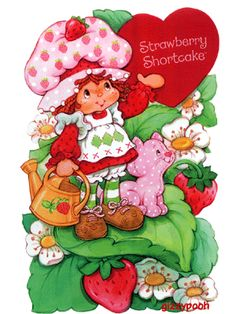 I had a Strawberry Shortcake Cookbook! rainbow brite One of my favorite Saturday Morning cartoons Used t. Strawberry Shortcake Characters, Vintage Strawberry Shortcake, Cartoon Photo, 3d Cartoon, Old School Cartoons, Rainbow Brite, Strawberry Fields, Toot, Holly Hobbie