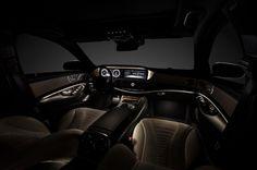 Interior of Mercedes 2014 S-Class