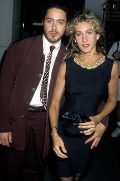 Robert Downing Jr. & Sarah Jessica Parker - Dated for 6 years and according to Downing probably would have married if not for his drug use. Sarah married actor Matthew Broderick..