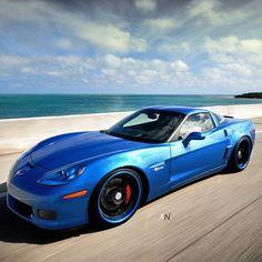 """""""They see me Rollin"""" - Corvette Vette ZO6"""