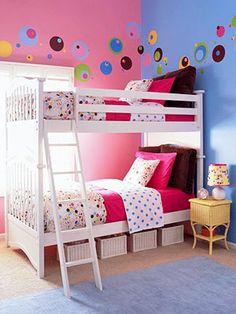 Colorful polka dot theme colorful pink purple polka dot baby room ideas baby room baby rooms baby room idea