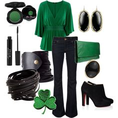 I want this outfit for St. Patrick's Day