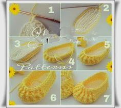 Crochet Child Booties The distinction is within the particulars: Crochet child sneakers sample Crochet Baby Booties Supply : The difference is in the details: Crochet baby shoes pattern. by debozarkPasso a Passo sapatilha de crochê para bebê - Croc Booties Crochet, Crochet Slippers, Baby Booties, Baby Sandals, Shoes Sandals, Baby Slippers, Crochet Baby Clothes, Crochet Baby Shoes, Love Crochet