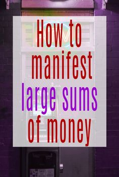 Top tips and hacks on how to get manifesting and manifest large sums of money   #manifesting #manifest #manifestmoney Ways To Save Money, Money Tips, Money Saving Tips, Life On A Budget, Family Budget, Manifesting Money, How To Manifest, Frugal Tips, Saving Ideas