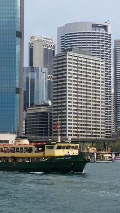 Sydney from Circular Quay