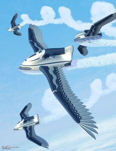 Steam flight - by PyramidHill  Worth1000 Contests