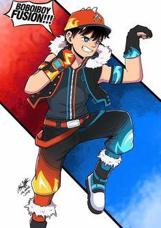 Boboiboy Anime, Anime Guys, Boboiboy Galaxy, Short Comics, Pin Art, Little Kittens, Cartoon Art, Kawaii, Animation