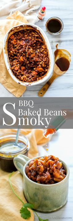 ... onion sauce, these beans are smoky and sooo mouthwatering! | Vegan