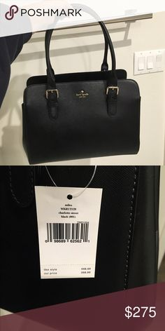 NWT Kate Spade Miles Charlotte Street (Black) Great bag for every day. Never worn. NWT. kate spade Bags
