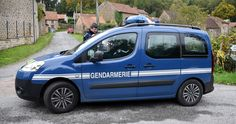 2008 Citroën Berlingo 2 phase 1 - Gendarmerie Nationale - France