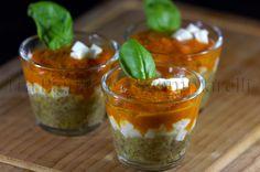 Semplificazione di parmigiana di melanzane