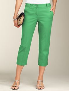 $34 Capris Perfect for Florida, Talbot's Sale Found a similar pair for $5 Vineyard Vines at a local Chic Boutique!