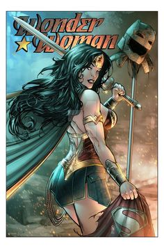DC COMICS: Wonder Woman par Adriano Batista