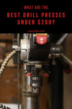 Discover the best cheap drill press under $200 in our comprehensive woodworking review. Use this DIY tool for drilling, mortising, square holes, and spindle sanding. #sawshub #drillpress #cheaptool #woodworking Pallet Furniture Plans, Diy Furniture, Homemade Tables, Build Your Own House, Drill Press, Woodworking Projects Diy, Good And Cheap, Diy Home Improvement, Working Area