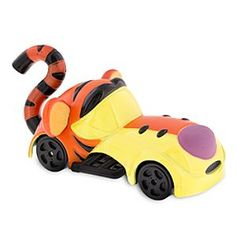 Tigger Disney Racers Die Cast Car | Disney Store Pooh's pal is positively Tiggerific as this Disney Racers Die Cast Car. Reimagined as a fun car -- because driving is what Tiggers do best -- Tigger is all set to go racing around the Hundred Acre Wood.