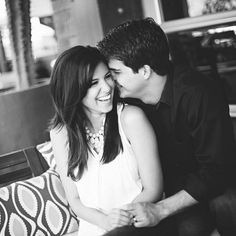 Adorable couple! Photo taken by our friends at Monique Hessler Photography