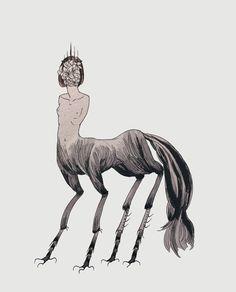 April 03 2017 at from thejeweledotter Beast Creature, Dark Drawings, Art Folder, Character Design Inspiration, Horror Art, Surreal Art, Art Sketchbook, Dark Art, Art Tutorials