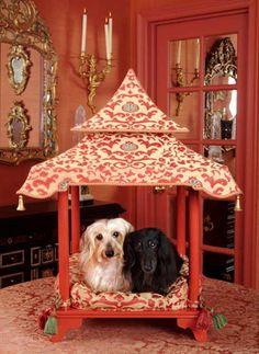 Casitas de perro estilo chino