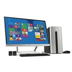 "HP Pavilion 550-077cb Desktop & 27"" Monitor Bundle - Intel Core i7-4790 3.6GHz 12GB 1TB DVDRW Windows 8.1 HP http://www.amazon.com/dp/B014Z1T82U/ref=cm_sw_r_pi_dp_1xIuwb0AB7VYZ"