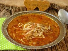 Red Lentil Vegetable Soup Recipe, How? Lentil Vegetable Soup, Lentil Soup Recipes, Vegetable Soup Recipes, Turkish Recipes, Ethnic Recipes, Iftar, Special Recipes, Lentils, Food Pictures
