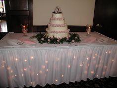 Wedding Cake Table Display | photo