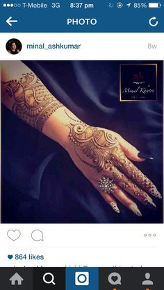 Love this henna by Minal khatri