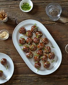 Who can resist a platter of cocktail meatballs? Just break out the toothpicks to…