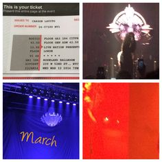 Before the Roseland ballroom closed down, I saw lorde in concert. This was on a rainy day in March. I didn't love standing for 4 hours, in heels, but lorde actually have a really good concert. I had originally heard otherwise but I was please and I also like lo fang now too.