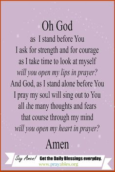 Pray it! http://prayables.org/ blessings, prayers, inspirational stories & quotes, Bible verse to your inbox daily.
