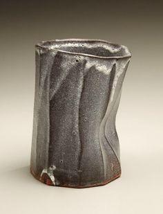 Yagi Kazuo (1918-79) - shino glazed yunomi