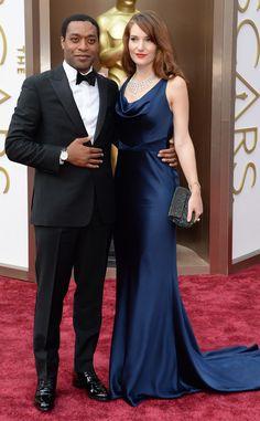 Chiwetel Ejiofor & Sari Mercer from 2014 Oscars Red Carpet Arrivals | E! Online