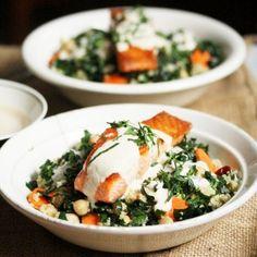 Salmon and Quinoa Bowls