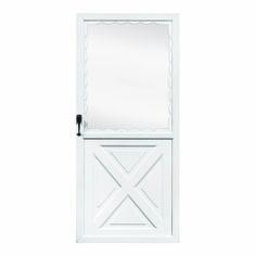 Clic Crossbuck Door Fox Aluminum - Old Fashioned Aluminum Storm Doors Aluminum Storm Doors, Aluminum Screen Doors, Aluminum Products, Classic Series, How To Gain Confidence, Entry Doors, How To Run Longer, Empire, Fox