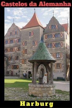Harburg é uma das cidades da Rota Romântica Alemã e seu castelo se mantém bem autêntico ao período em que foi construído. Confira as dicas da Rota Romântica e de Harburg no blog.