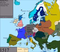 Europe 1517