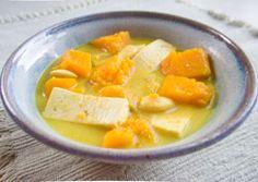 Thai Butternut Squash Tofu Stew - Vegan, Crockpot Recipe