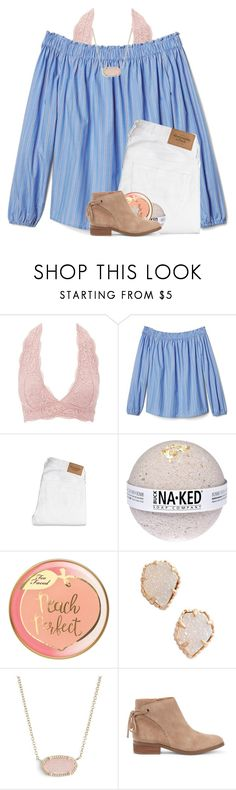 """""""day one: kendra scott"""" by madelinelurene ❤ liked on Polyvore featuring Charlotte Russe, Abercrombie & Fitch, Kendra Scott, Sole Society and abs1000contest"""