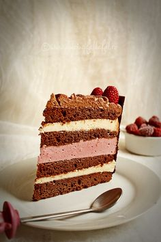 Tort cu zmeura si ciocolata Delicious Desserts, Dessert Recipes, Romanian Food, Homemade Cakes, Something Sweet, Yummy Cakes, Deserts, Food And Drink, Birthday Cake