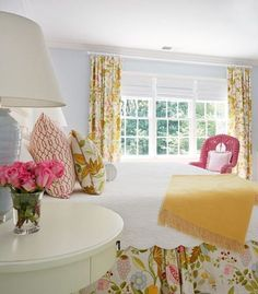 Custom made bedskirts any length Dust ruffles Bedroom Bed skirt Bedding Extra long bedskirtsCustom dust ruffles Matching curtains Bedroom Bed, Guest Bedrooms, Bedroom Furniture, Bedroom Decor, Cottage Bedrooms, Guest Room, Shabby Bedroom, Extra Bedroom, Pink Bedrooms