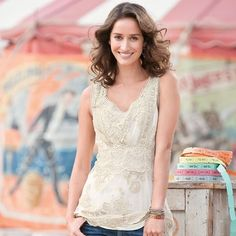 Gabriella Lace Tunic in Summer 2013 from Sundance on shop.CatalogSpree.com, my personal digital mall.