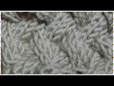 Punto a X ai ferri (punto canestro diradato) - YouTube