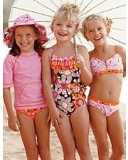 Sunny girls fashions at Hanna Anderson