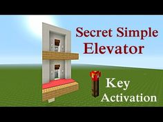 Hey everyone this is a 2 floor secret simple elevator That has NO buttons and is only activated by the redstone torch Key. Minecraft Redstone Creations, Minecraft Secrets, Minecraft Seed, Minecraft Plans, Minecraft Tutorial, Minecraft Blueprints, Minecraft Projects, Minecraft Crafts, Minecraft Designs