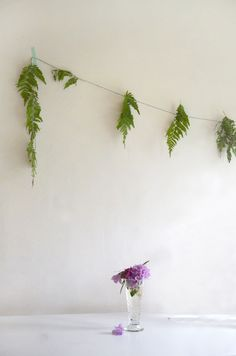 willowday: Make the Easiest Fern Garland --- ever