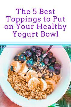 Repin and click for the 5 Best Toppings for Your Yogurt #yogurt #food #recipes Healthy Yogurt, Coconut Yogurt, Healthy Smoothies, Healthy Fats, Healthy Eating, Yogurt Recipes, Healthy Recipes, Best Greek Yogurt, Types Of Yogurt