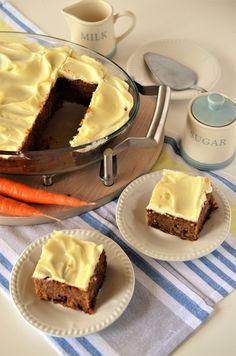 Prajitura cu morcovi - Retete culinare by Teo's Kitchen Sugar, Desserts, Deserts, Tailgate Desserts, Postres, Dessert, Plated Desserts