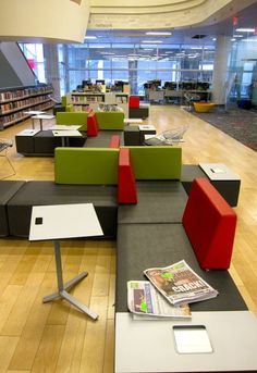 Laurel Series Library Seating - for sectioning one area off from ...