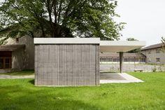 Schulanlage Gönhard | Lehm Ton Erde, Martin Rauch, Vorarlberg