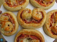 Palemeritas de pizza cocina tradicional